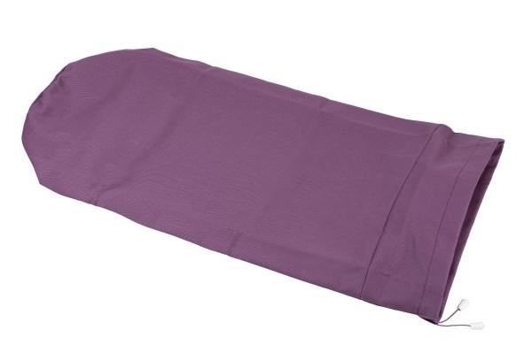 Bezug für Kissenrollen 70x25, Baumwolle (lila)