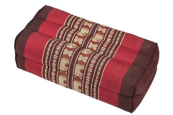 Block Cushion Thai Design (Red Elephants)
