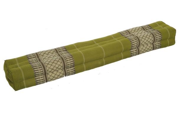 rechteckiges Kissen lang 115x15x10 cm (bambusgrün)