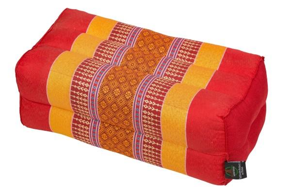 Handelsturm Pillow Block 35x15x10 cm (colorful red)