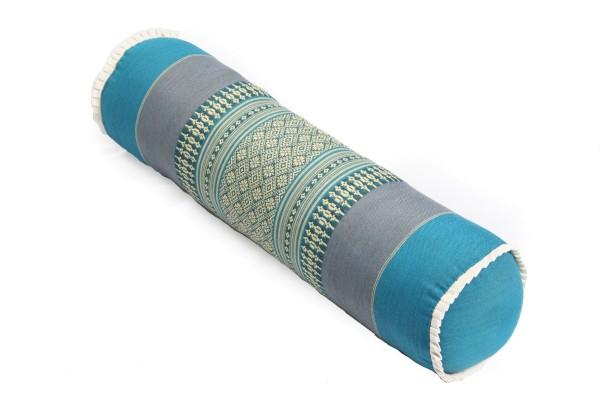 Nackenrolle 50x13x13 cm (blautöne)