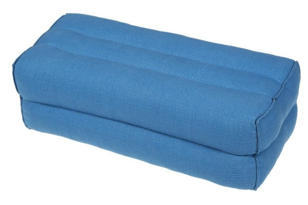 Kapokkissen Block 35x15x10 cm (lichtblau)