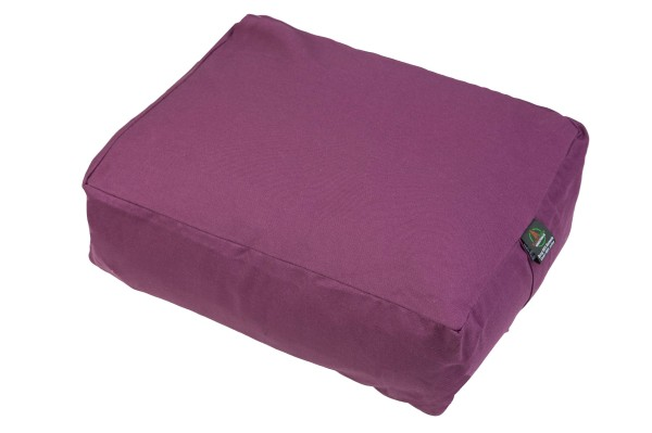 Pillow cotton & buckwheat (purple)