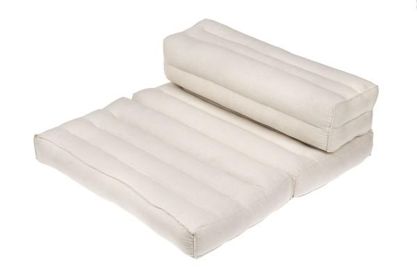 Foldable meditation cushion (white)