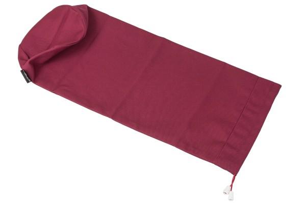 Bezug 50x14 aus 100% Baumwolle rot