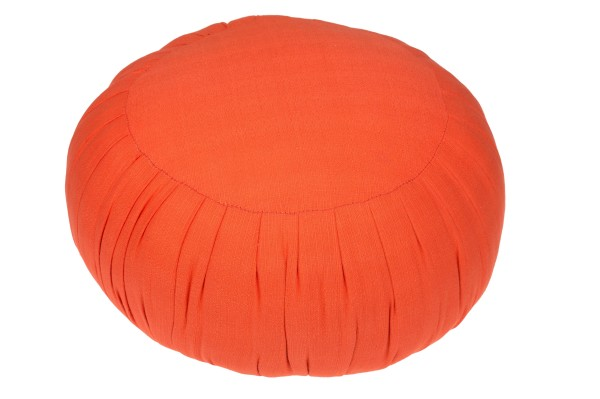 Zafu Meditationskissen ca. 38x21 cm (orange)
