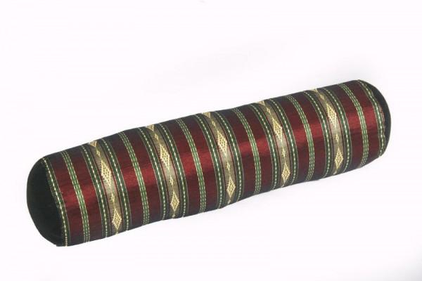 Kissen Rolle 50x15 cm (gold-gestreift)