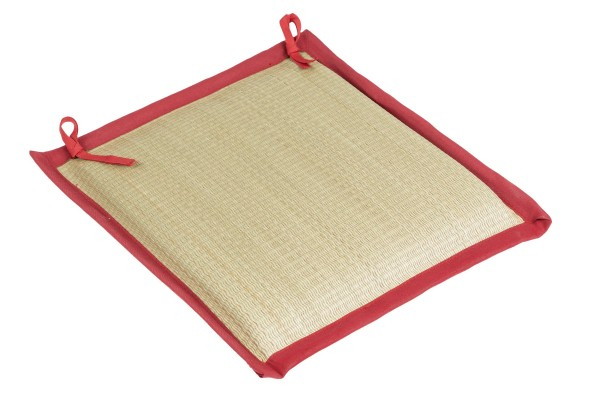 Chair Pad red 40x40cm