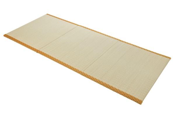 Tatami Klappmatte 200x80 (gold) aufgeklappt