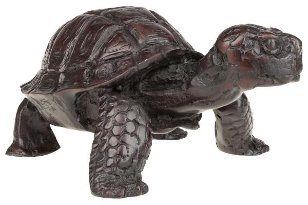 """Figur """"Schildkröte"""", Polyresin, ca. 13 x 10 x 6 cm"""