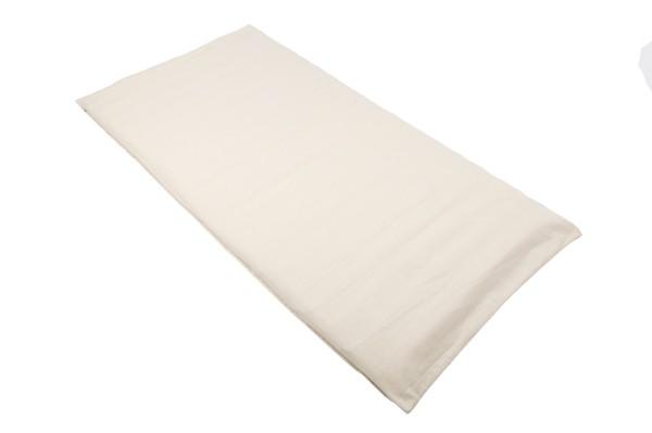 Rollmatte mit Buchweizenfüllung 200x100 cm (naturweiß)