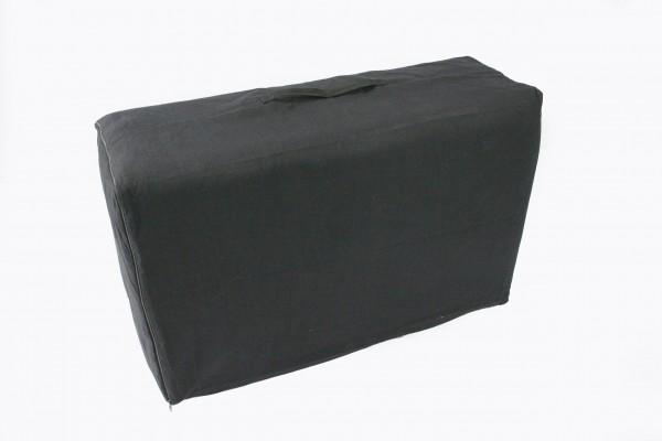Tasche für 4-fach faltbare Thaimatte (schwarz)