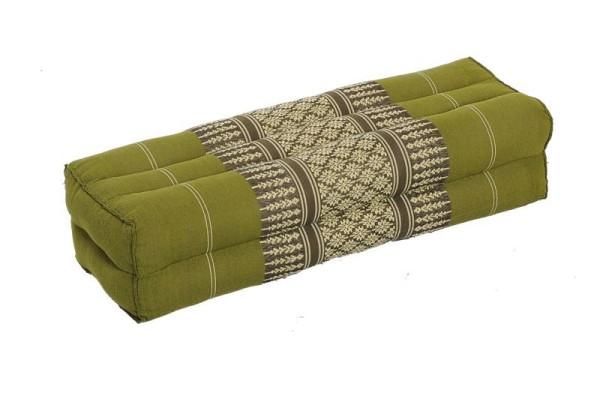 Thaikissen Block 50x15x10 cm (bambusgrün)