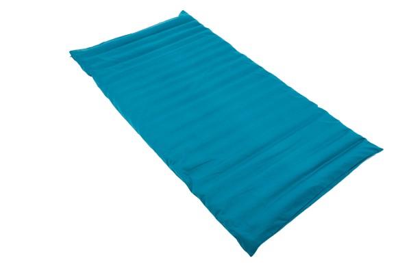 Rollmatte mit Buchweizenfüllung 200x100 cm (petrol) offen