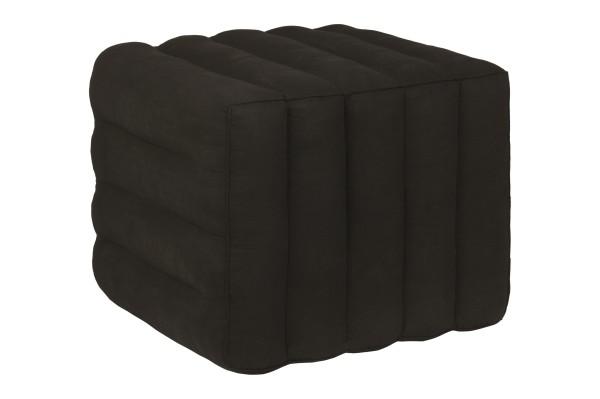 Thaikissen Block 40x45x50 cm (schwarz)