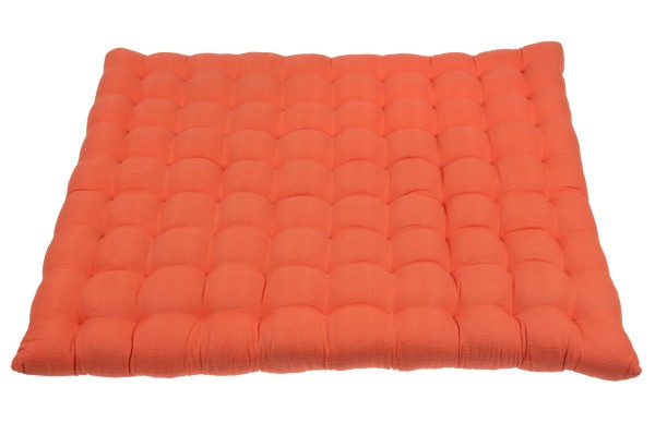 Zabuton Naturbaumwolle 65x85 cm (orange)