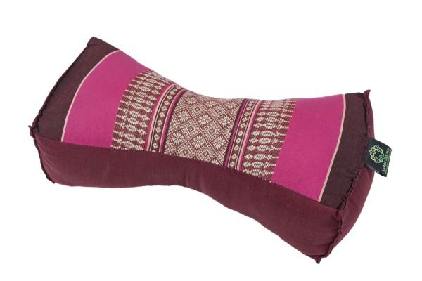 Massagekissen 30x15x10 cm (burgunder & pink)