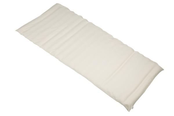 Rollmatte Baumwolle/Buchweizen 200x80 cm (weiß)