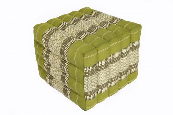 Lagerungskissen mit Thaimuster 40x45x50 cm (bambusgrün)
