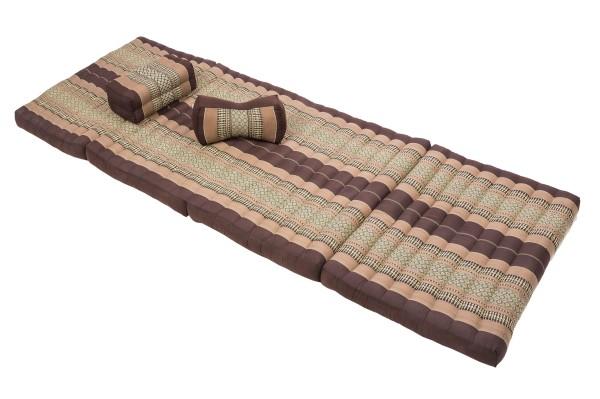 Massageset III (Thaimuster braun-beige)