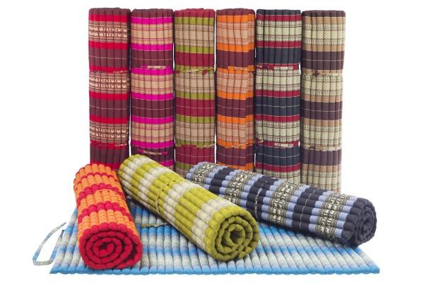 Rollable Thaimat XXL 200x150 cm various colours