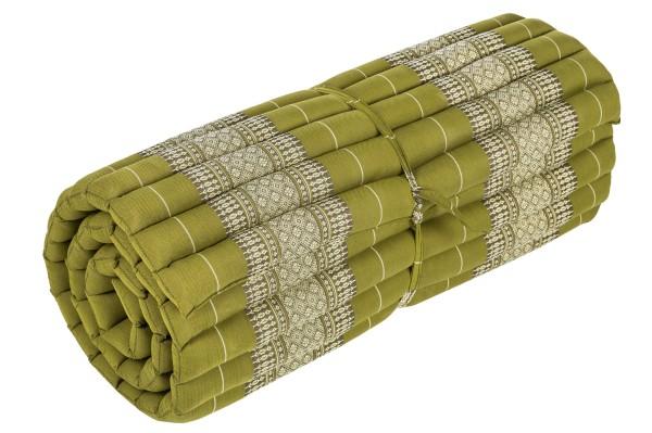 Rollbare Kapokmatte 200x80 (bambusgrün)