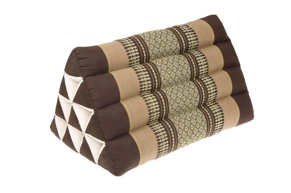 Thai Triangle Pillow 50x28 cm (earthtones)