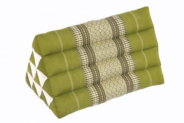 Thai Triangle Pillow 50x28 cm (bamboogreen)