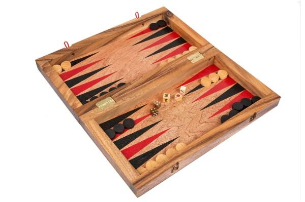 Backgammon / Dame (Holzspiel)