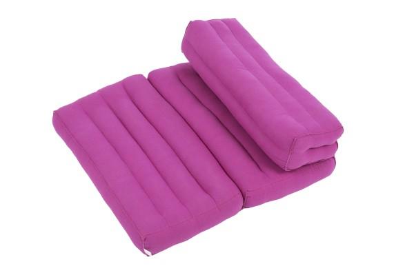 Foldable meditation cushion (purple)