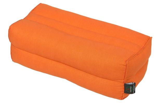 Kapokkissen Block 35x15x10 cm (orange)