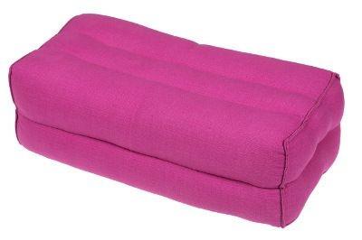 Kapokkissen Block 35x15x10 cm (pink)