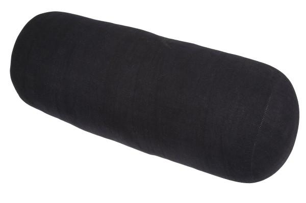 Yoga Bolster 70x25 cm (schwarz)