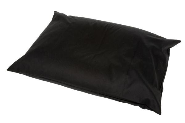 Buchweizenkissen 70x50 (schwarz)