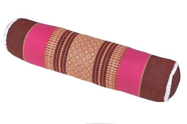 Nackenrolle 50x13x13 cm (burgunder & pink)